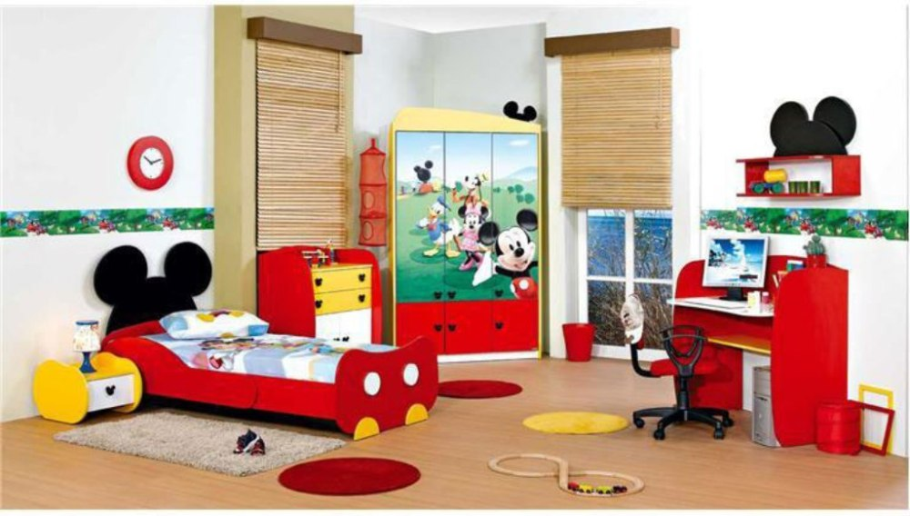 Toddler Boy Mickey Mouse Bedding