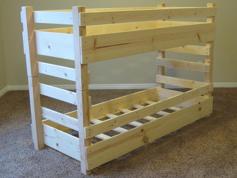 Toddler Bunk Bed Diy