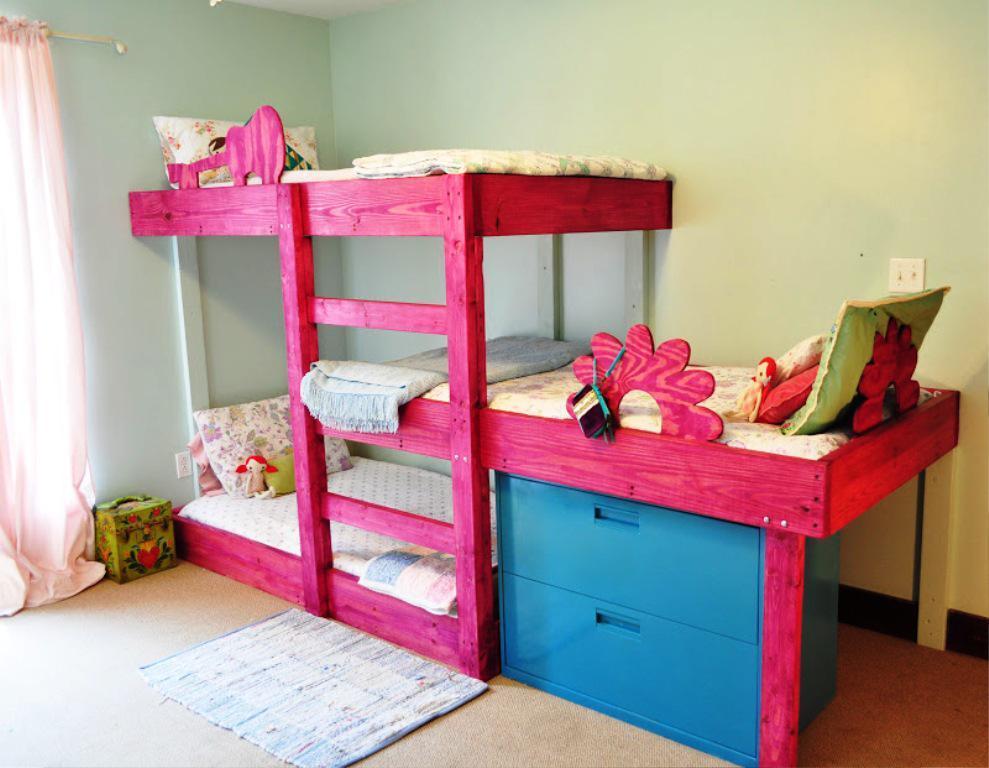 Toddler Bunk Beds Diy