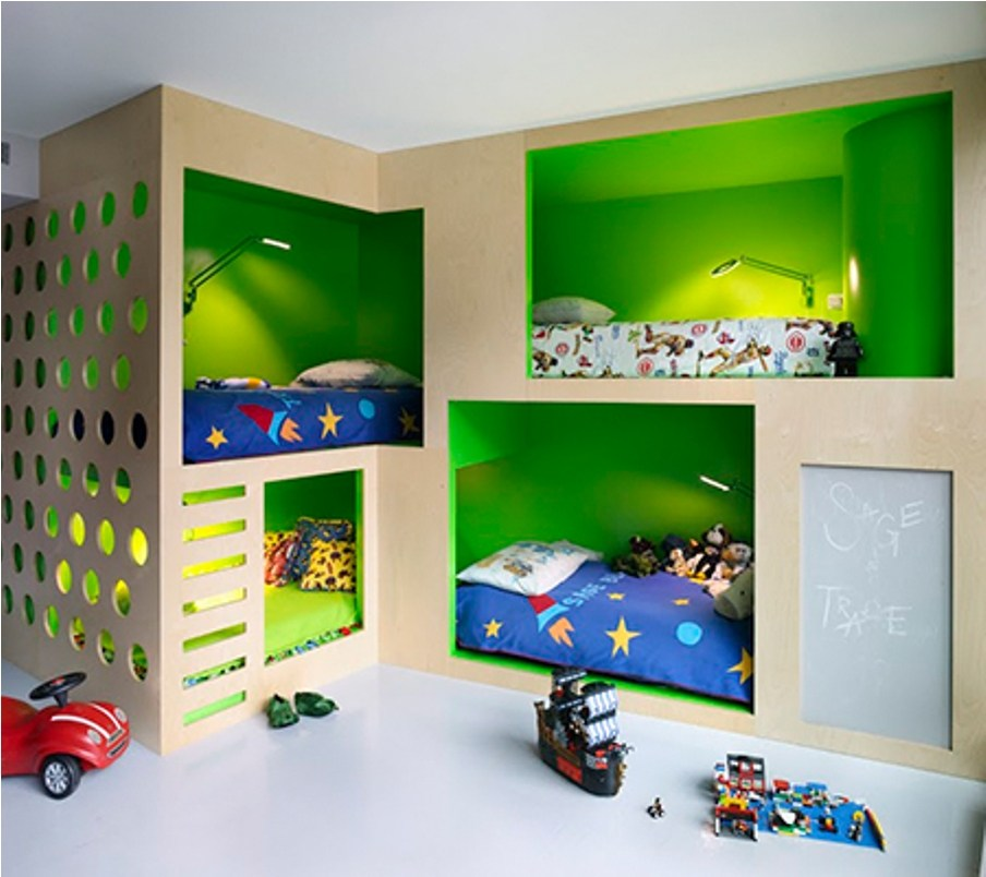 Toddler Bunk Beds With Slides
