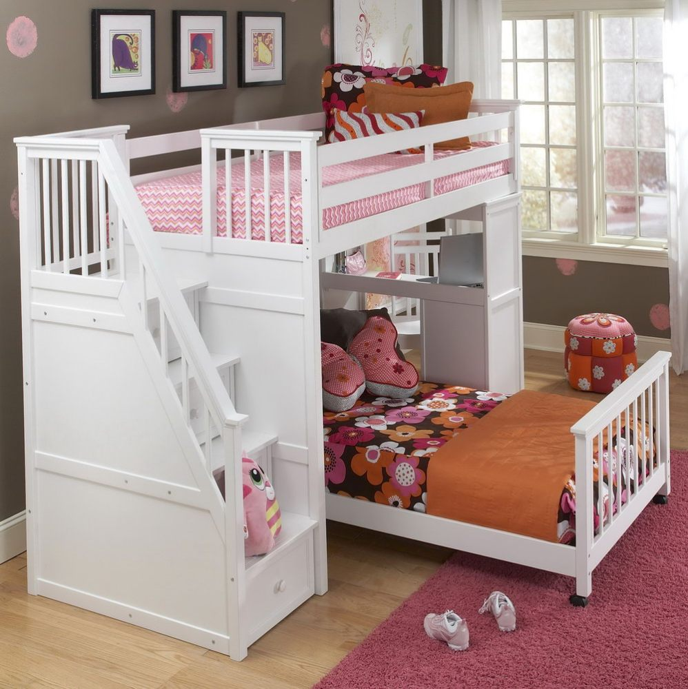Toddler Bunk Beds With Stairs Uk