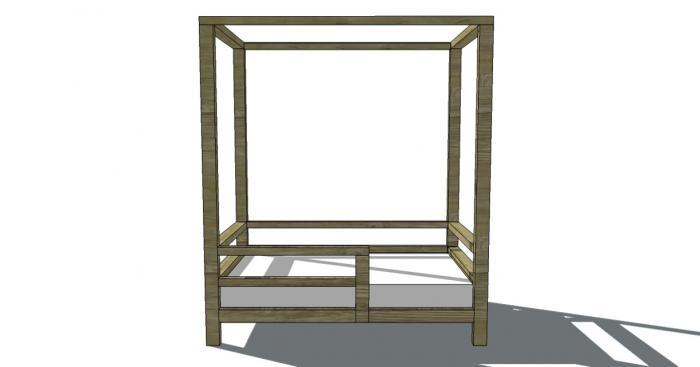 Toddler Canopy Bed Plans