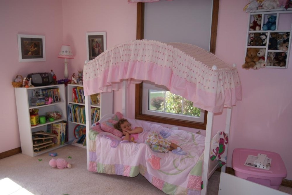 Toddler Canopy Bed Uk