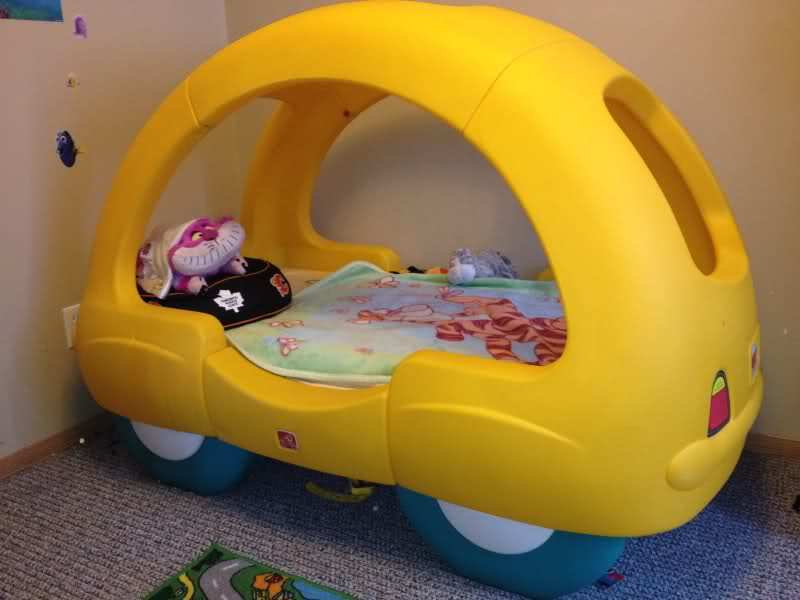 Toddler Car Bed For Sale