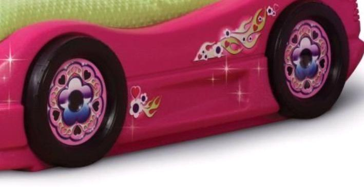 Toddler Car Bed Pink