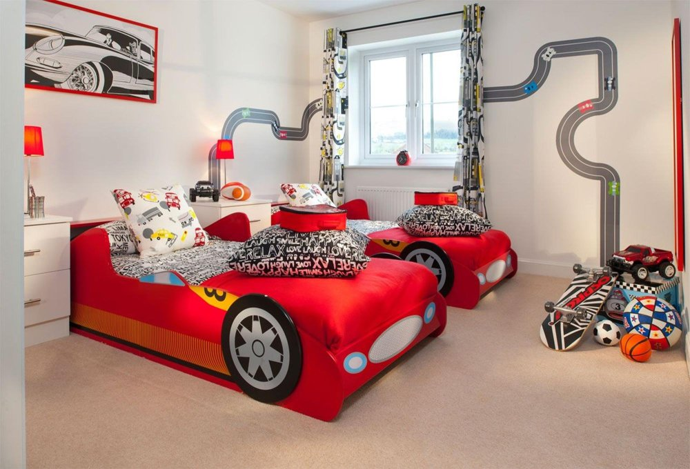 Toddler Cars Bedroom Ideas
