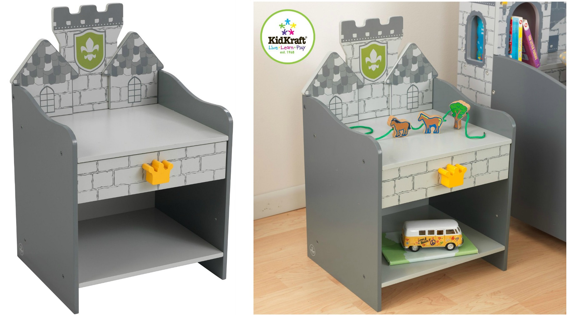 Toddler Castle Bed Boy
