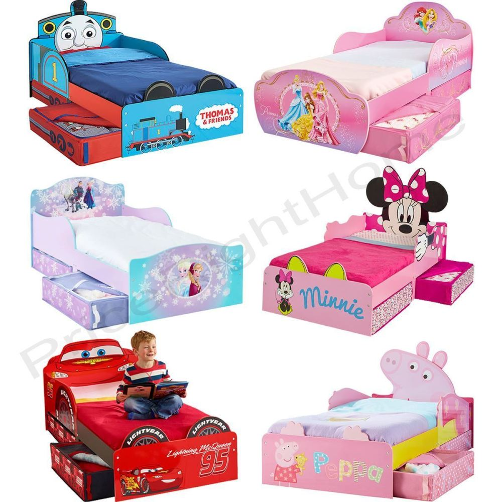 Toddler Character Beds With Mattress