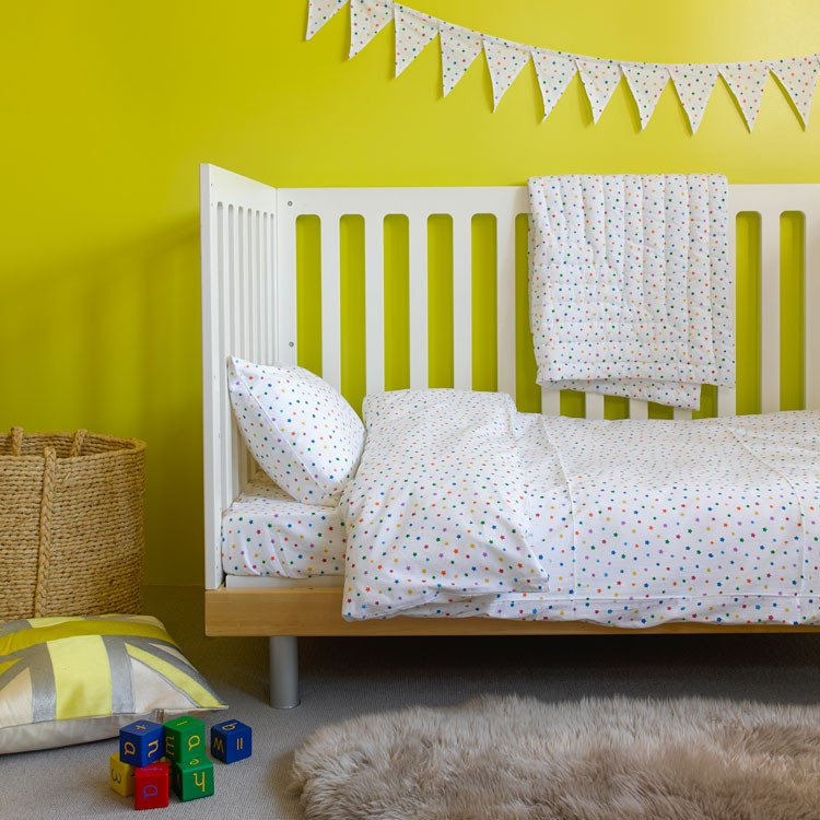 Toddler Cot Bed Duvet Set