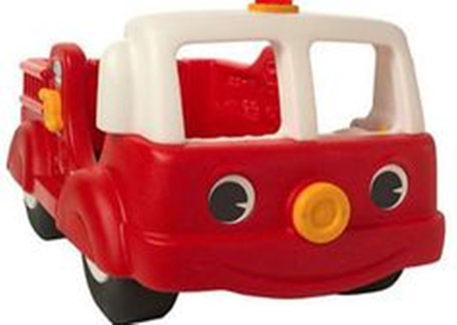 Toddler Firetruck Bed