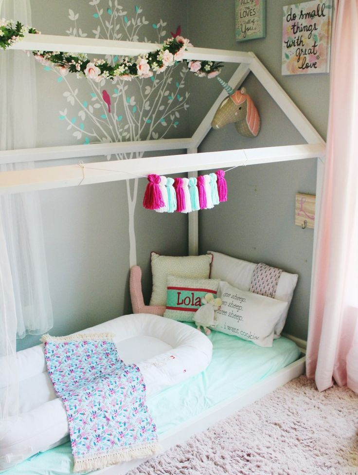 Toddler Floor Bed Ideas