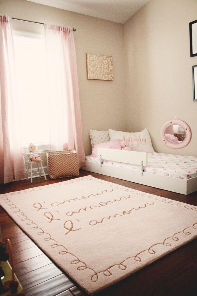 Toddler Floor Bed Pinterest