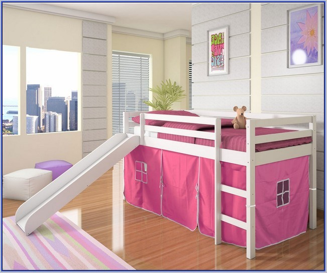 Toddler Girl Bed With Slide