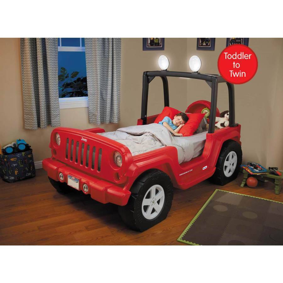 Toddler Jeep Bed