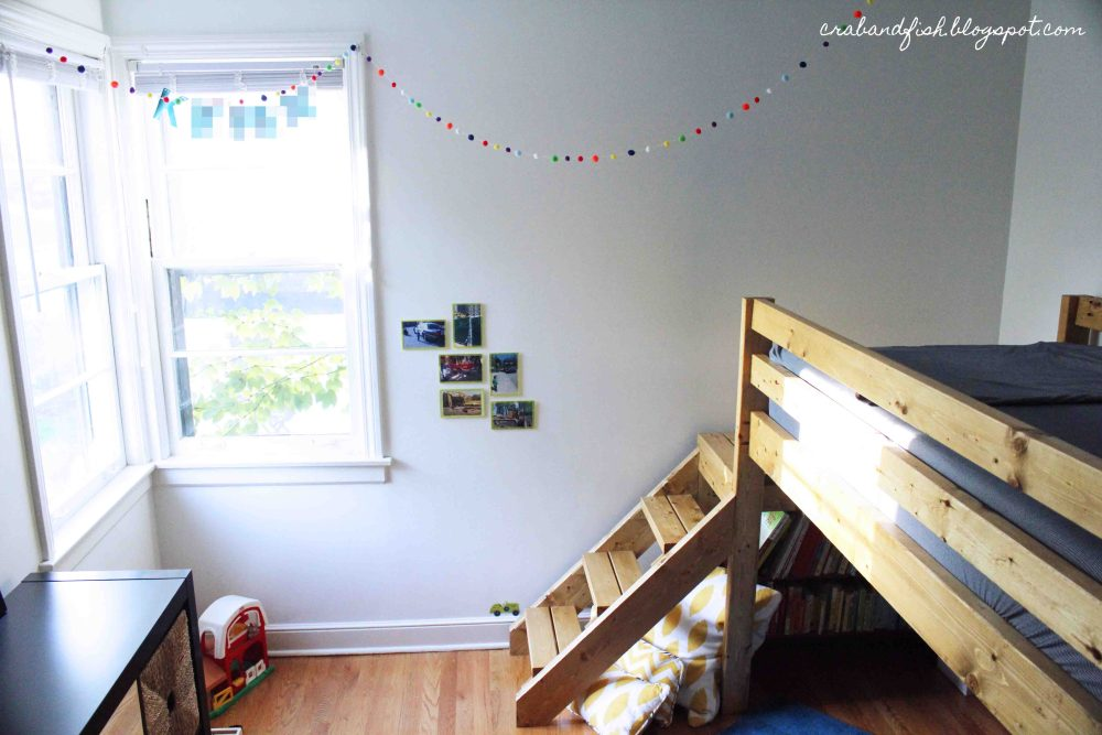 Toddler Loft Bed Diy