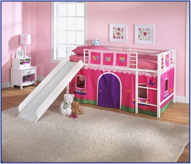 Toddler Loft Bed With Slide Plans