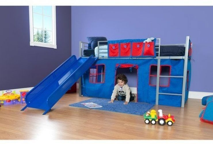 Toddler Loft Beds With Slide