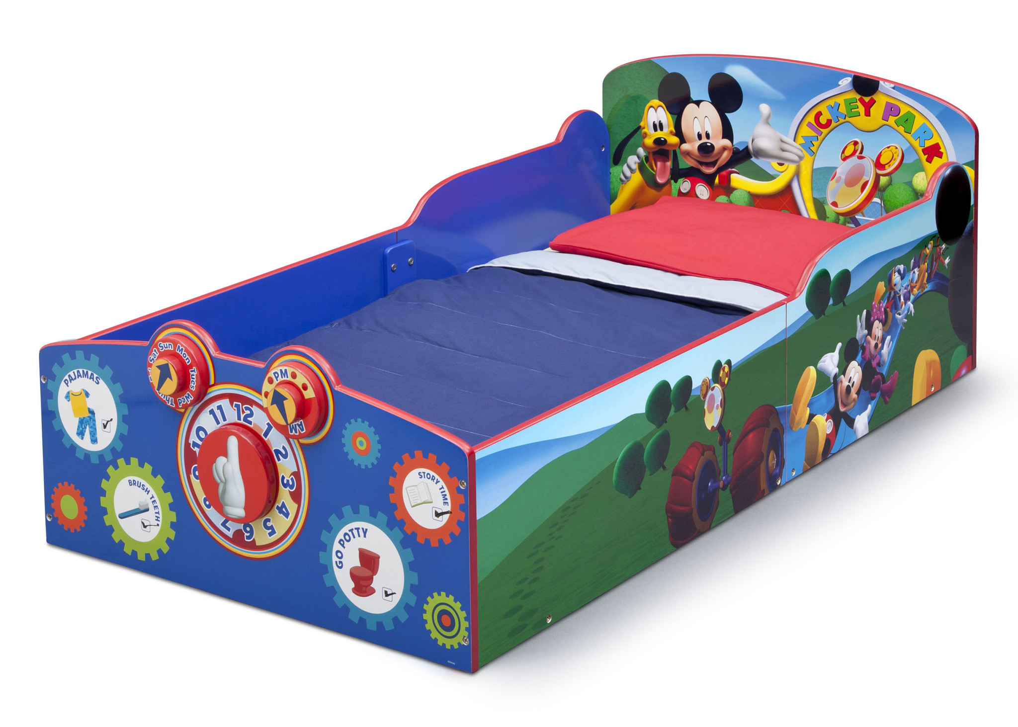 Toddler Mickey Mouse Bed