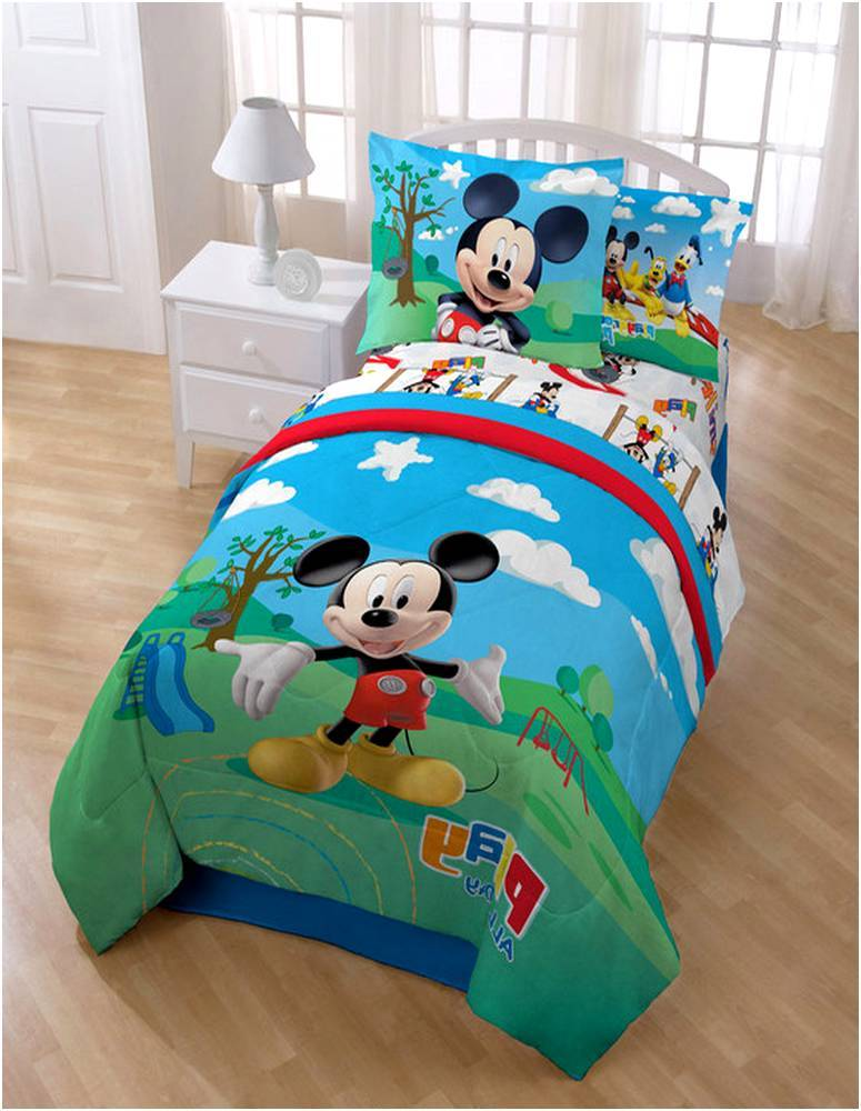 Toddler Mickey Mouse Clubhouse Bedding