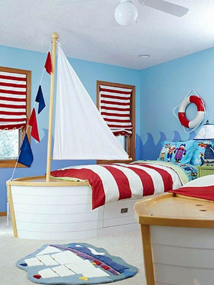 Toddler Pirate Bedroom