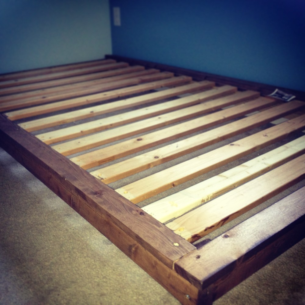 Toddler Platform Bed Diy