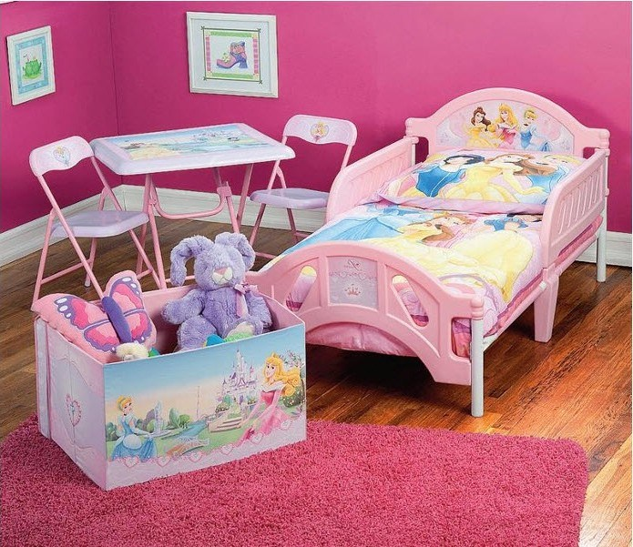 Toddler Princess Bed Set