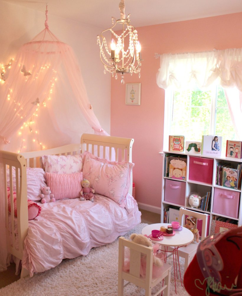 Toddler Princess Bed With Canopy