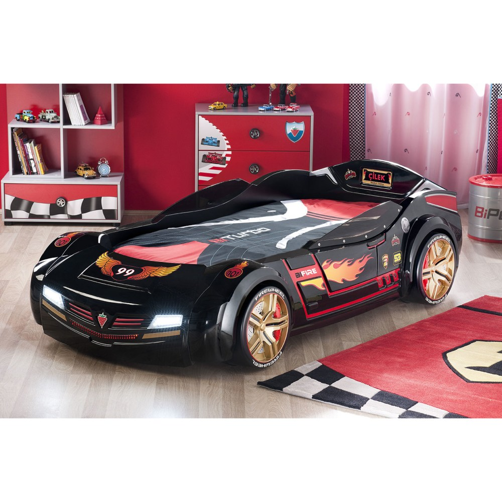 Toddler Race Car Bed Set