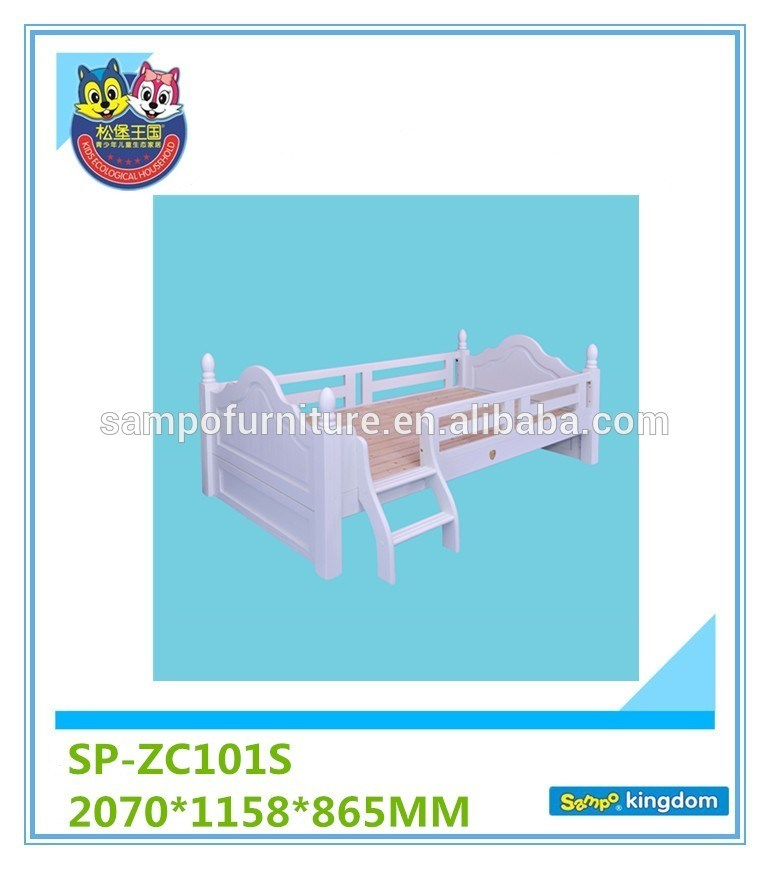 Toddler Rails Platform Bed