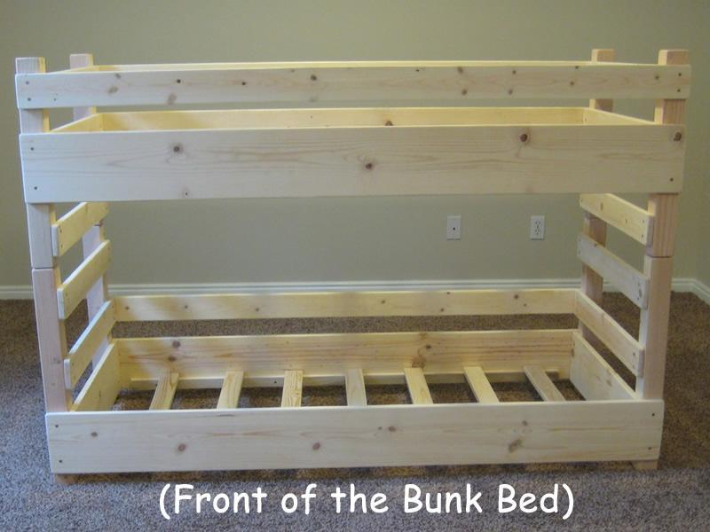 Toddler Size Bunk Bed Plans Free