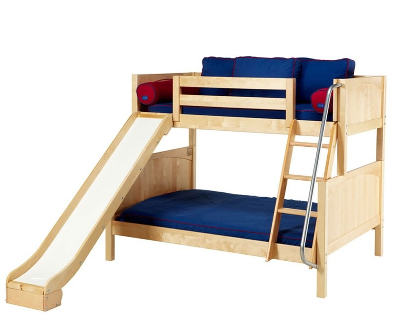 Toddler Size Bunk Beds With Slide