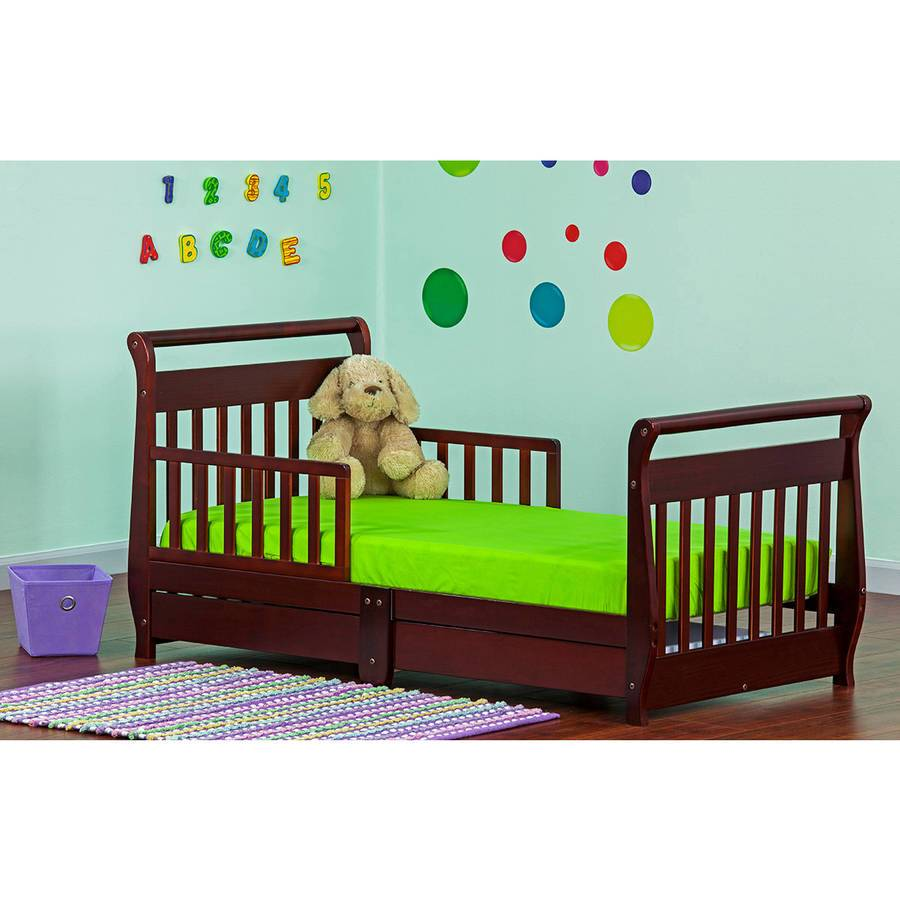 Toddler Sleigh Bed Cherry