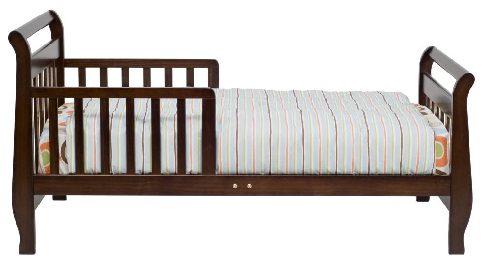Toddler Sleigh Bed Espresso