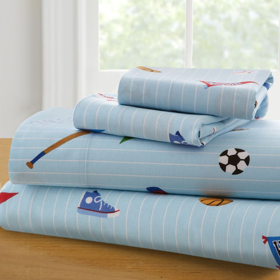 Toddler Sports Sheet Set