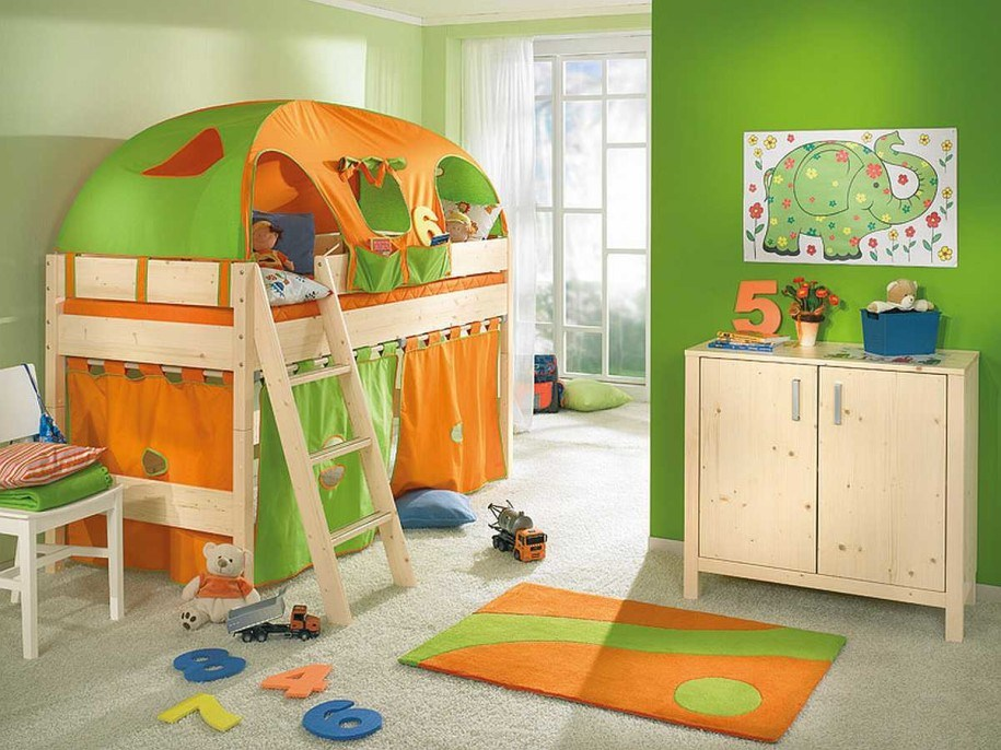 Toddler Tent Bed Girl