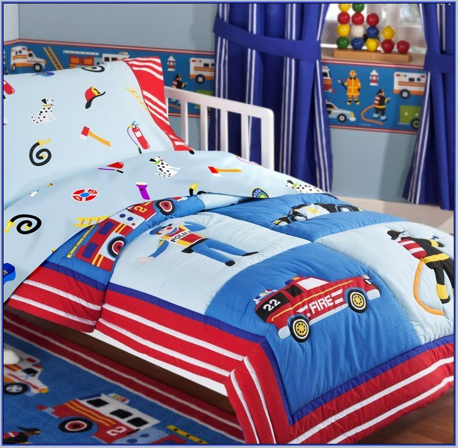 Toddler Tractor Bedding Sets