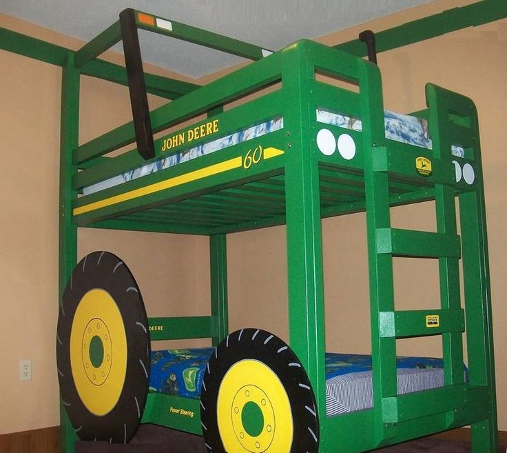 Toddler Tractor Bedroom