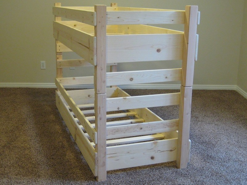 Toddler Train Bed Plans