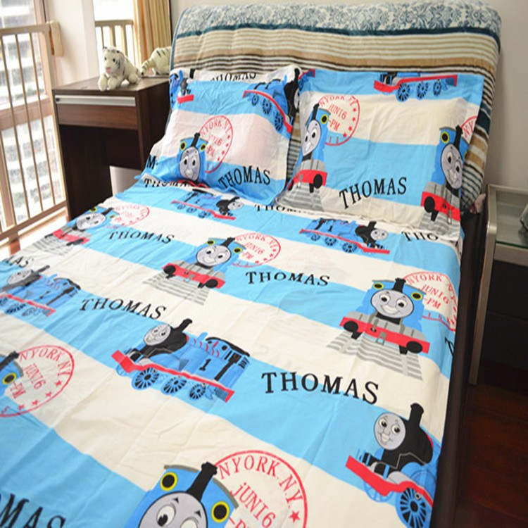 Toddler Train Bedding