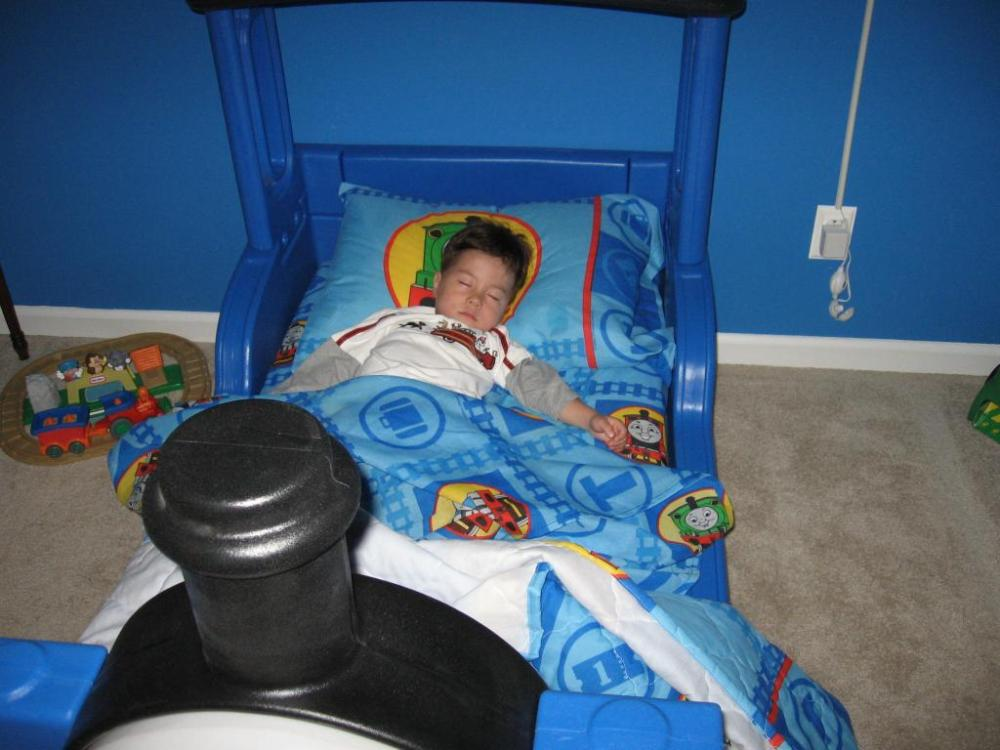 Toddler Train Bedroom