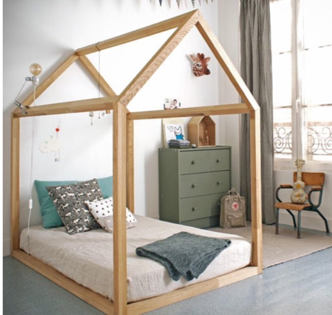 Toddler Wood Bed Frame
