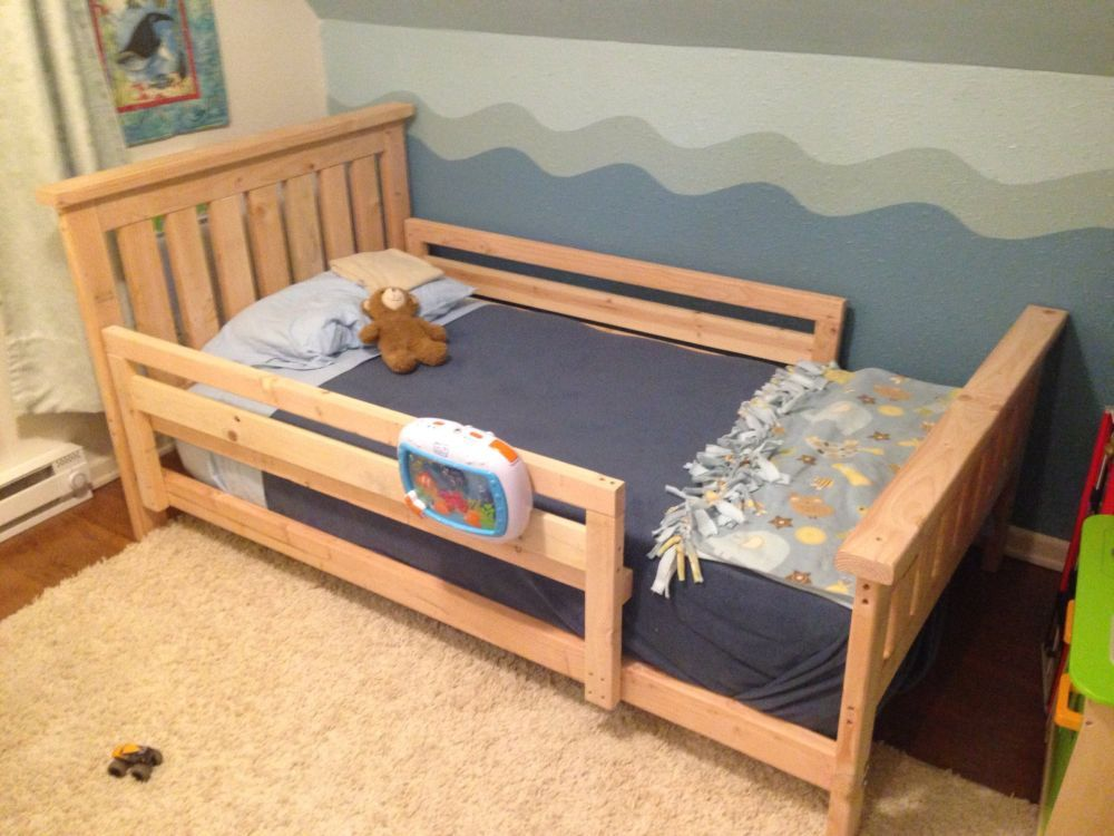 Toddler Wood Bed Rails