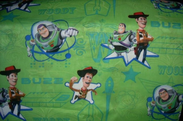 Toy Story Toddler Bed Sheet Set