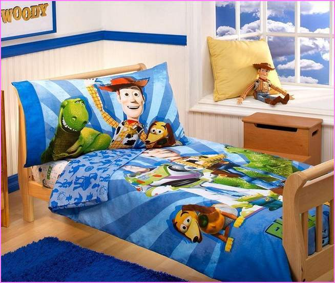 Toy Story Toddler Bed With Storage