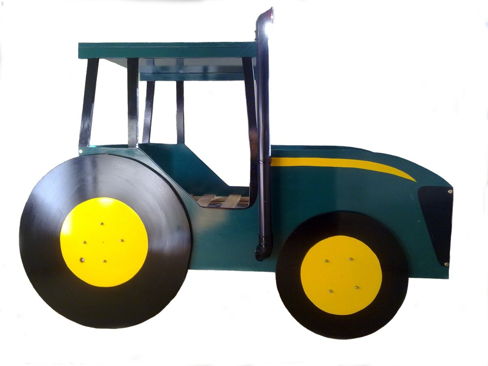 Tractor Toddler Bed Uk
