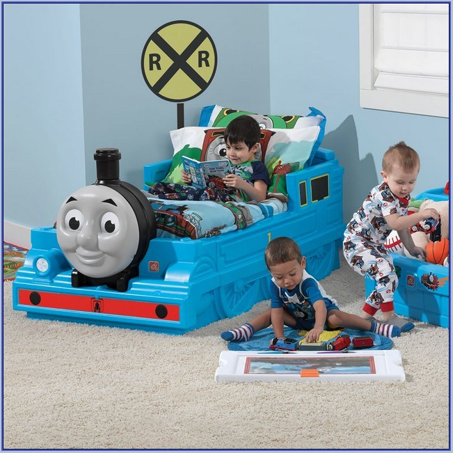 Train Toddler Bed Canada