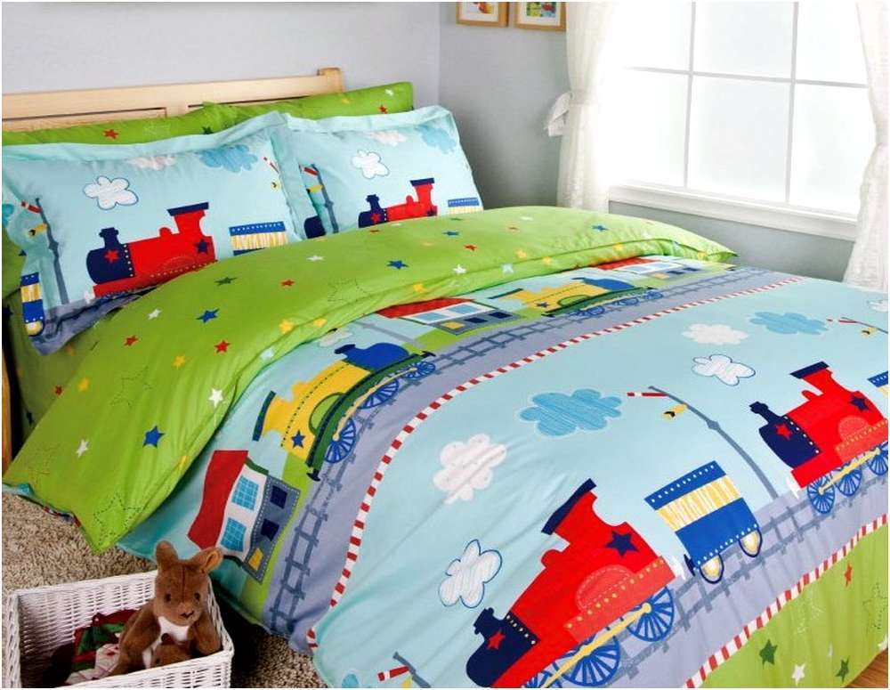 Train Toddler Bedding