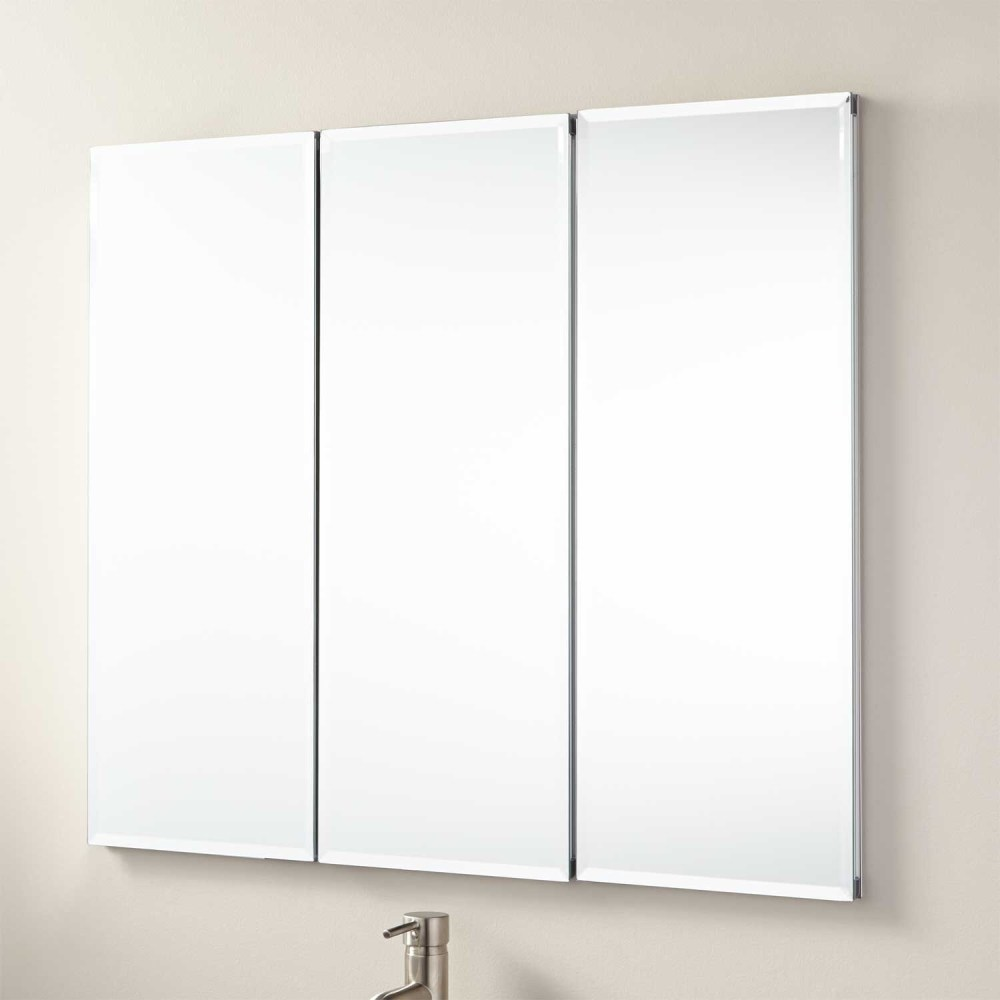 Tri Mirror Medicine Cabinet