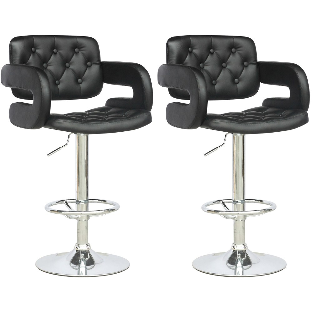 Tufted Bar Stool Cushion