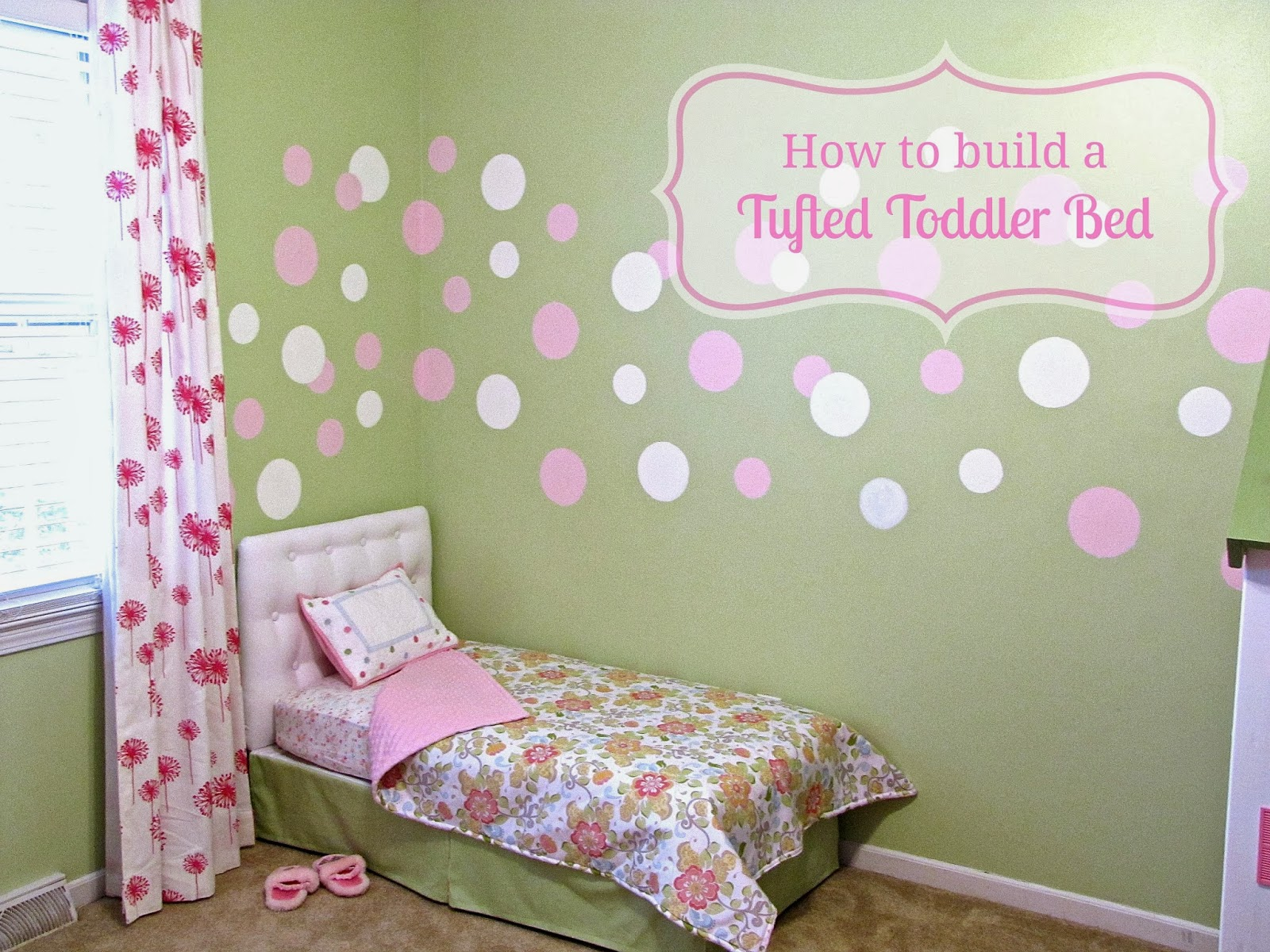 Tufted Toddler Bed